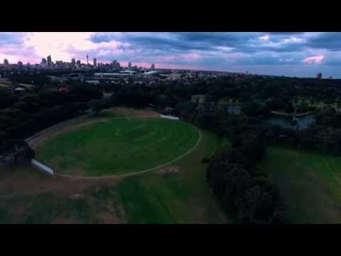 Almost getting arrested for Droning in Centennial Park, Sydney in 4K