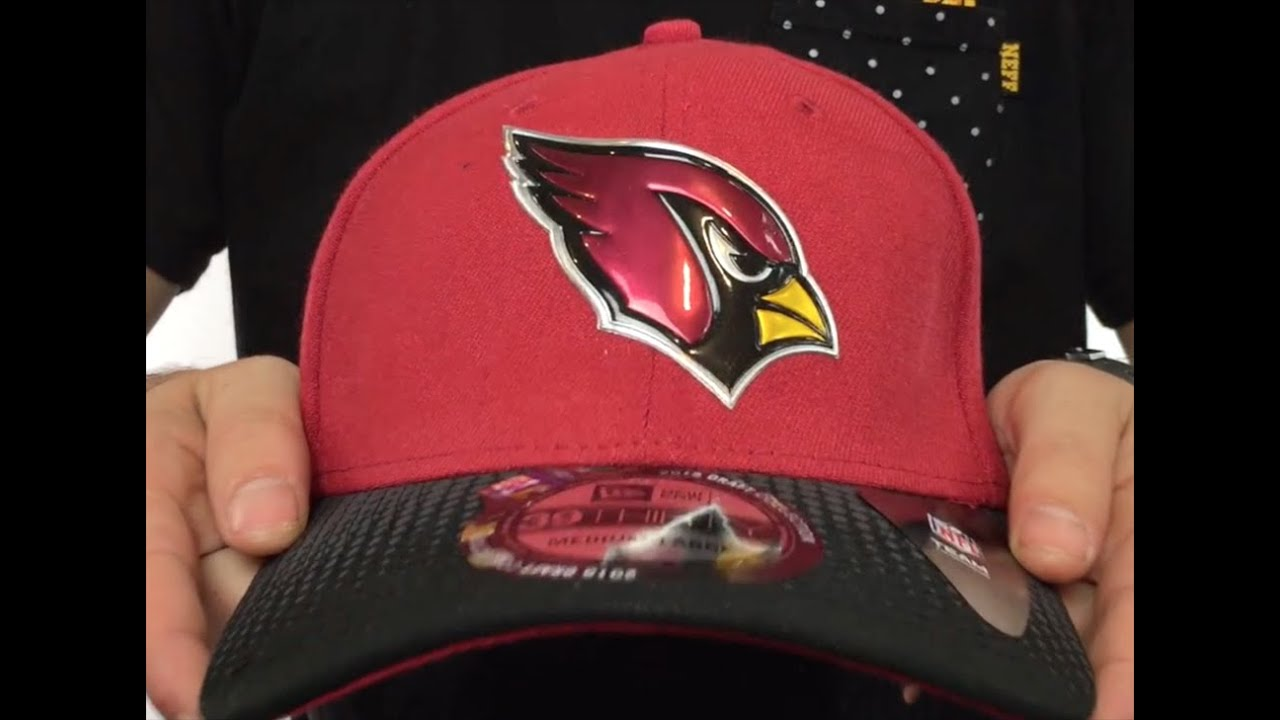 Cardinals  2015 NFL DRAFT FLEX  Hat by New Era - YouTube a0143da0e66e