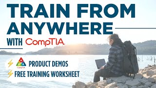 How to Train for IT Certification Exams (from home!) + 20% OFF CompTIA