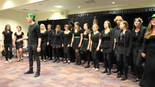 Ursula Hall Choir performing Call Me Maybe/Teenage Dream Mash Up and a Disney Medley