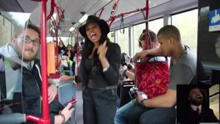Truth Hurts wait for it ... busdriver goes crazy! Addictive