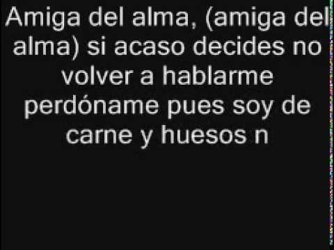 Amiga Del Alma Sabroso Letrascom