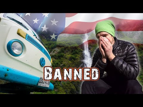 BANNED FROM THE USA