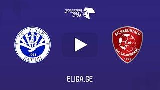 Dinamo Batumi vs Saburtalo full match