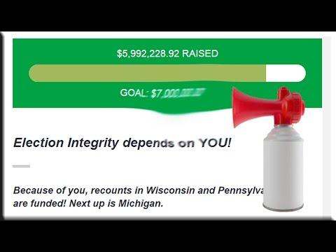 2016 Election RECOUNT Incoming! Jill Stein Requests Wisconsin, Pennsylvania, Michigan Vote Recounts!