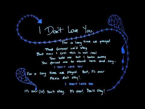 I Don't Love You (original song) Hania Zdunek