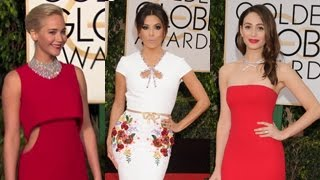73rd Annual Golden Globes Red Carpet 2016 Arrivals- Jennifer Lawrence, Lady Gaga And More