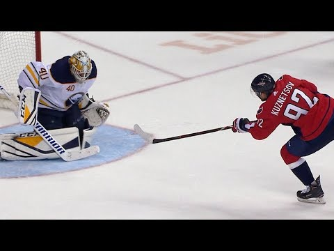 Sabres, Capitals battle for win in shootout