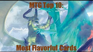 MTG Top 10:  Most Flavorful Cards