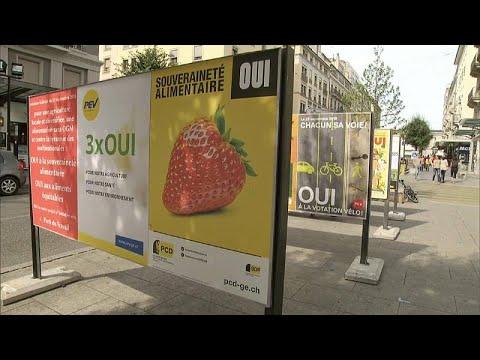 Suíços levam a alimentação sustentável a referendo