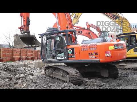 Hitachi Zaxis 350LC Demolition Excavator