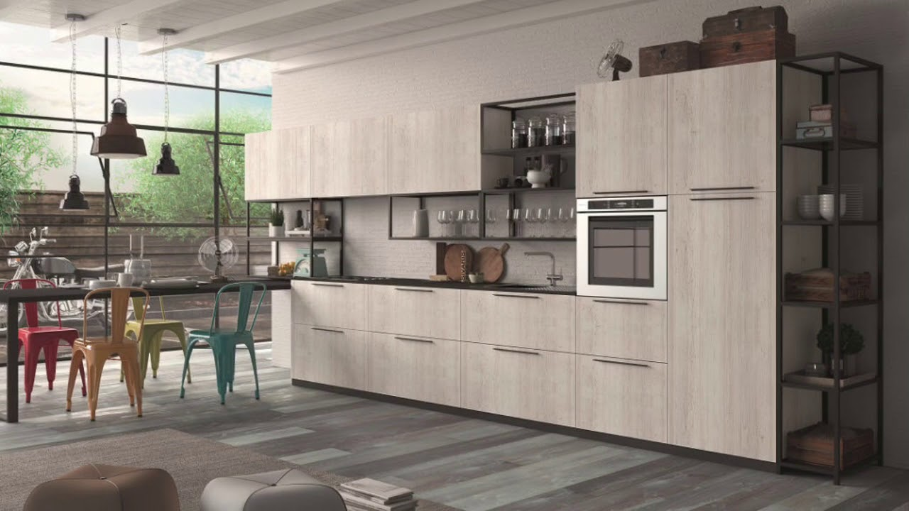 EVOLVE5 - Cucine moderne by Cucinesse - YouTube