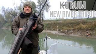 видео Трипод Korum River Tripod