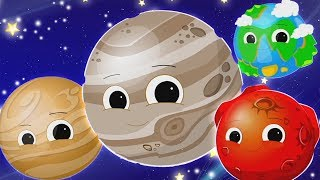 Gambar cover Planet lagu | belajar planet nama | tata surya sajak | Planets Song | Oh My Genius Indonesia