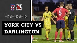 York City 4-0 Darlington - Vanarama National League North - 2018/19