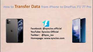Switch from iphone to oneplus? step by steps seamlessly transfer all the data oneplus 7t/7t pro! related articles: http://www.sync-droid.co...