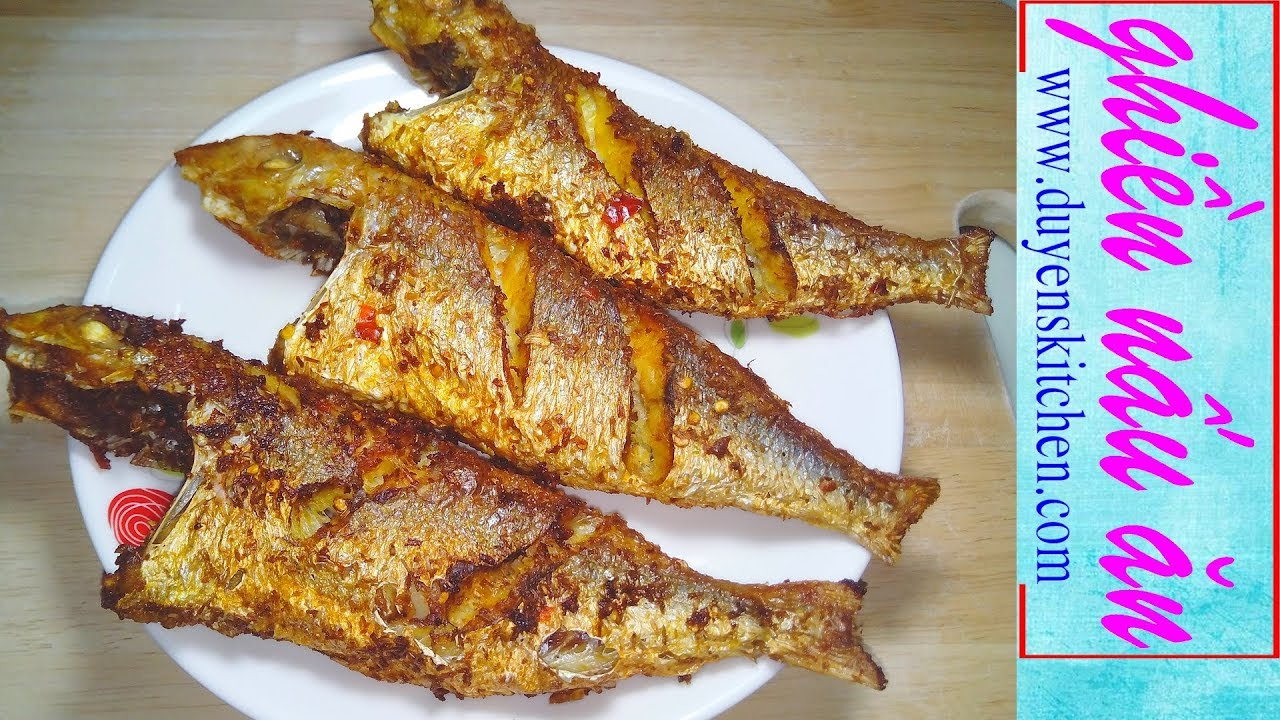 Cách Ướp Cá Muối Sả Ớt Chiên Giòn Dễ Ợt By Duyen's Kitchen | Ghiền Nấu Ăn