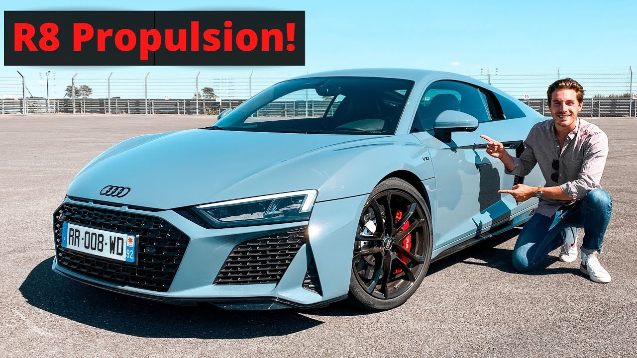 R8 V10 RWD: une Audi PROPULSION??