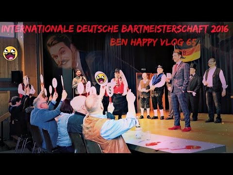 Internationale Deutsche Bartmeisterschaft 2016