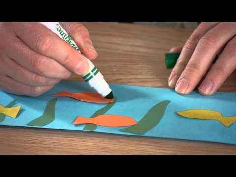 Under the Sea Project for Kindergarten : Kindergarten Crafts