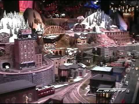 O Scale Train Layout at Macy's Herald Square New York City Store