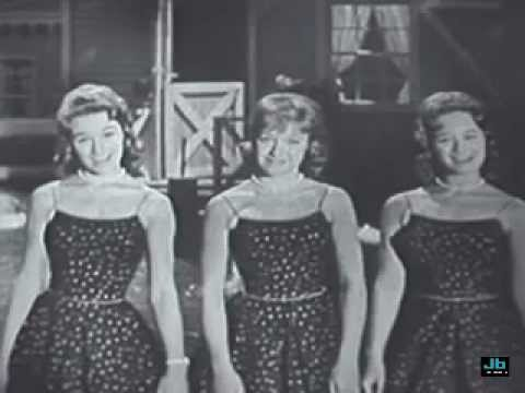 The Lennon Sisters - Swinging On A Star (Lawrence Welk Show)
