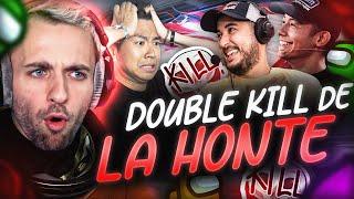 LE DOUBLE KILL DE LA HONTE… 😵 (Among Us)