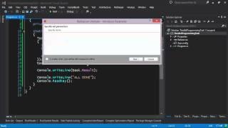 Паралелльное Программирование .NET (TPL) - Абстракция Task