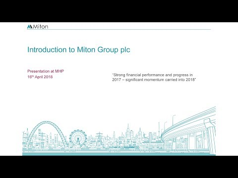 Miton Group (MGR) Investor presentation April 2018