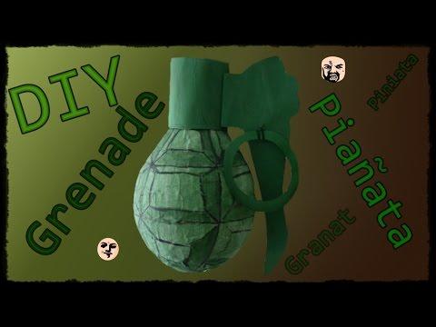 💣 DIY - Grenade Pinata / Pinata Piniata GRANAT