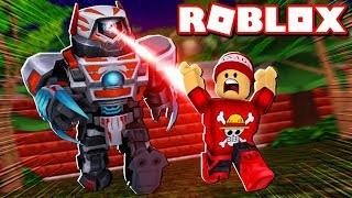 CREATED BATTLE and WORK ROBOTS in ROBLOX → Robot Simulator 🎮