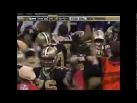 New Orleans Saints Super Bowl XLIV Highlights with Music