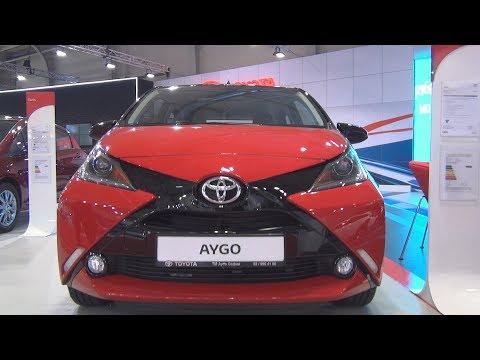 Toyota Aygo X-cite 1.0 VVT-i 69 hp 5MT (2018) Exterior and Interior