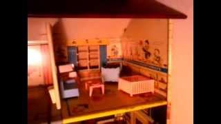 Marx Disney Lithograph Dollhouse Tour Pt.3