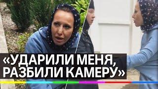 Ксению Собчак избили в монастыре схиигумена Сергия. Видео