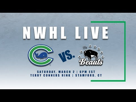 NWHL Live: Buffalo at Connecticut 03.02.19