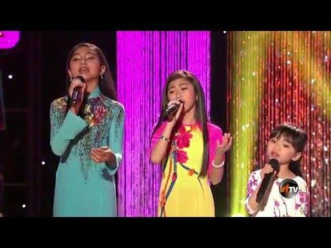 Mai Thiên Vân & VSTAR Kids: Lena, Victoria, Jenny (from Show Hội Ngộ Táo Quân 2016)