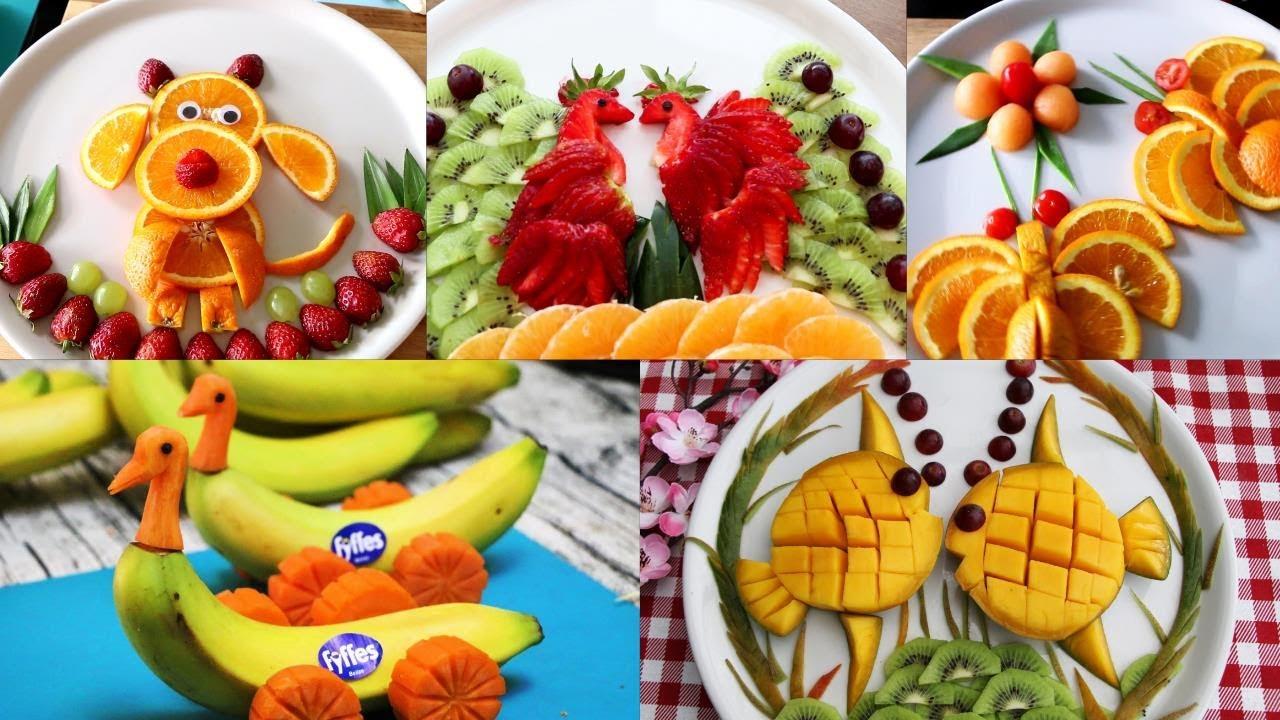 9 Food Art Challenge Fun Food For Kids - Food Decoration