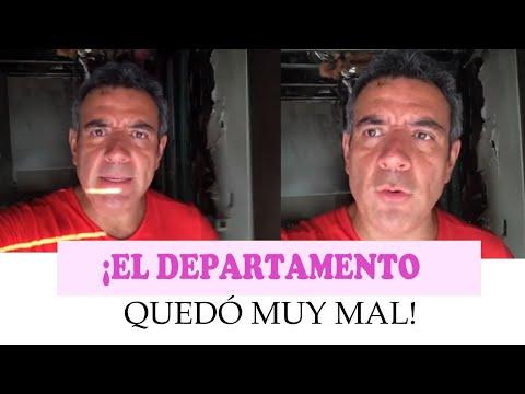 Así quedó el departamento de Héctor Sandarti en Cancún tras incendio