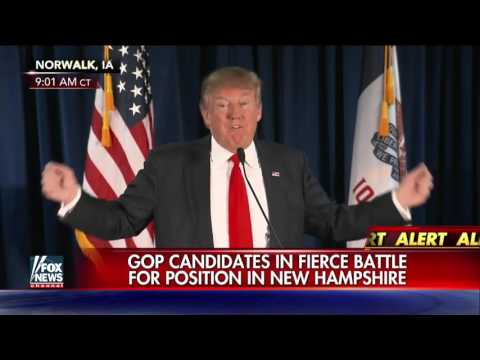 GOP candidates battle for top position in New Hampshire
