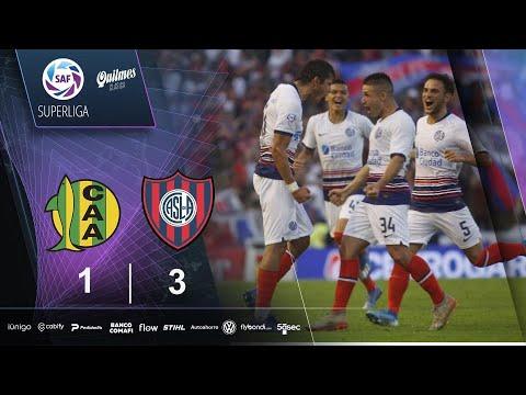 Aldosivi San Lorenzo Goals And Highlights