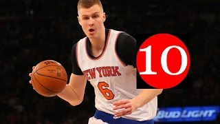 Kristaps Porzingis Top 10 Plays of Career