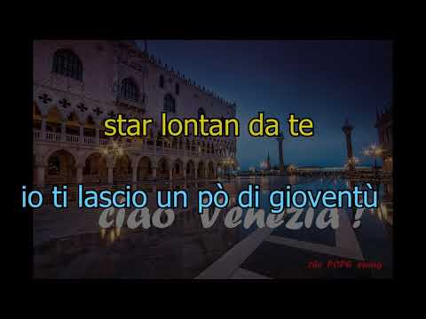 Ciao Venezia  Karaoke