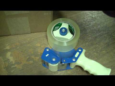 Bubblefast Packing Tape Gun How To Load