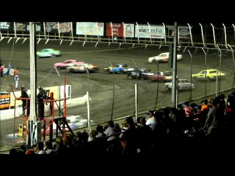 Hobby Stock Feature - Husets Speedway 9-6-15