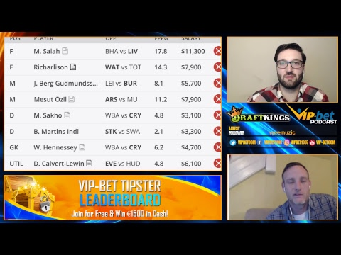 VIP-bet Sports Betting Odds Show - Premier League Week 12 Preview