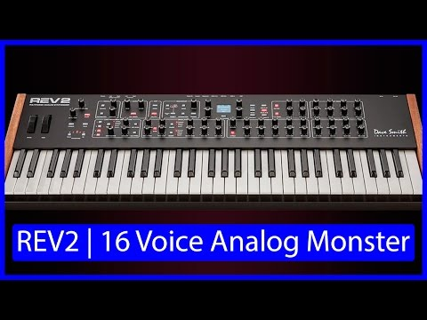 Dave Smith Instruments   REV2   16 voice Analog Poly Synth