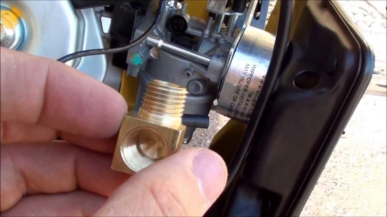 converting a champion 41532 generator to run on propane natural gas [ 1280 x 720 Pixel ]