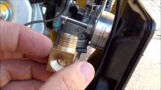 Converting a Champion 41532 Generator to Run on Propane, Natural Gas or Gasoline