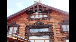 видео Окосячка в деревянном доме: окон и дверей